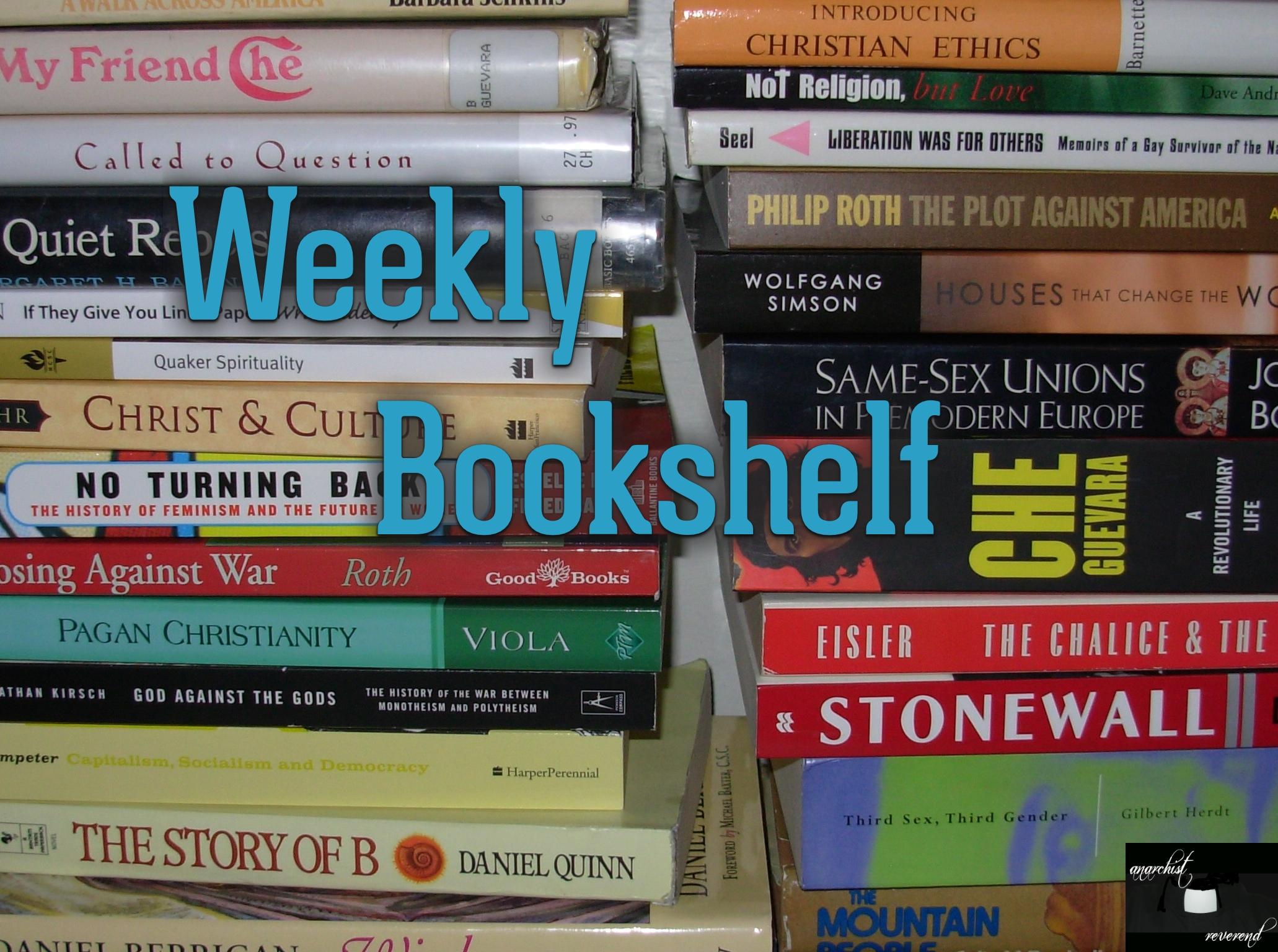 Weekly Bookshelf 107