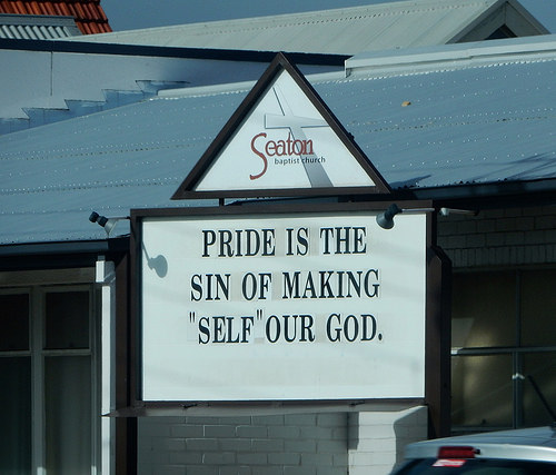 The Sin of Pride